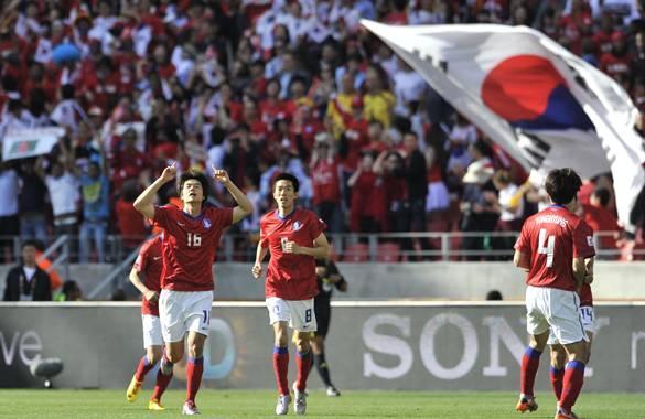 primer gol corea del norte
