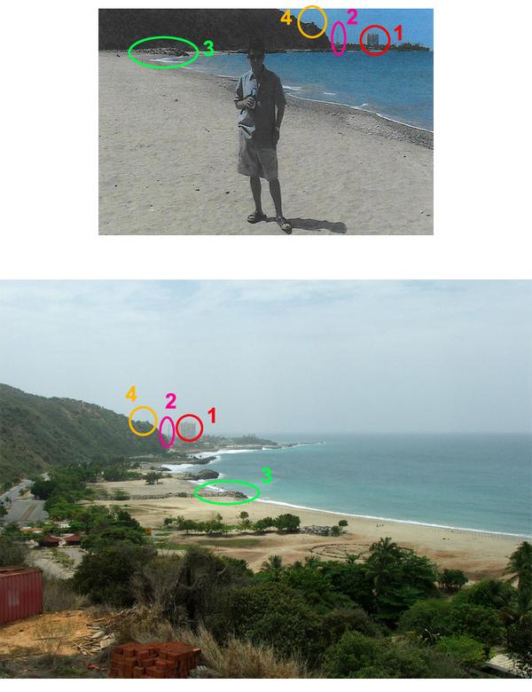 playa en el estado de vargas La foto de alias pablito sí es tomada en la playa Chichiviriche Estado de Vargas en Venezuela.