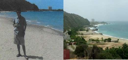 playa estado de vargas La foto de alias pablito sí es tomada en la playa Chichiviriche Estado de Vargas en Venezuela.