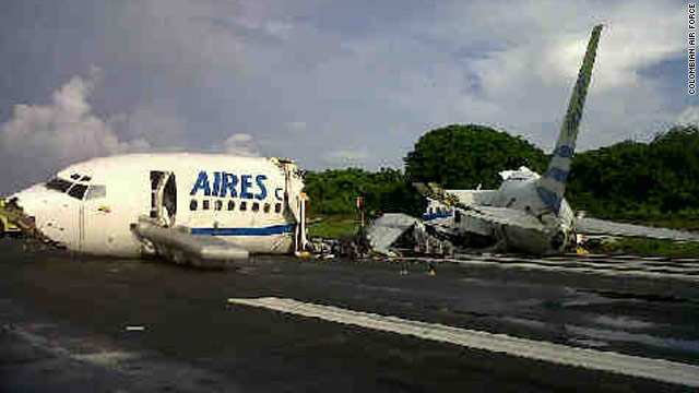 accidente aires san andres